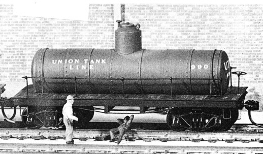 Old Railroad Tank Car